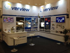 Overview stand at Security Essen 2016