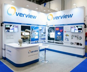 Overview's IFSEC Stand
